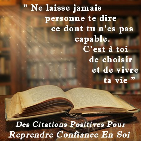 Citation Confiance en Soi n°24