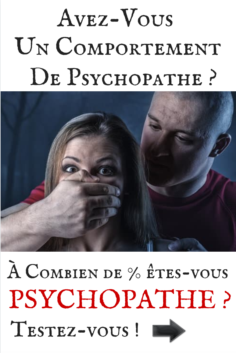 Test de dépistage du comportement Psychopathe
